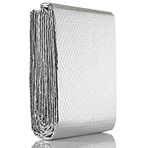 SuperFOIL RadPack lámina térmica (5m x 60cm), para ahorro de energía en radiador, reflector de calor, aislamiento