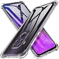 iBetter para Funda Moto One Pro Funda, TPU con Superficie Mate Silicona Fundas para Motorola One Zoom Smartphone.Transparente