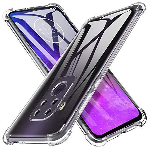 iBetter für Motorola One Pro Hülle, für Motorola One Zoom Hülle Soft TPU Ultradünn Cover [Slim-Fit] [Anti-Scratch] [Shock Absorption] passt für Motorola One Pro Smartphone, klar