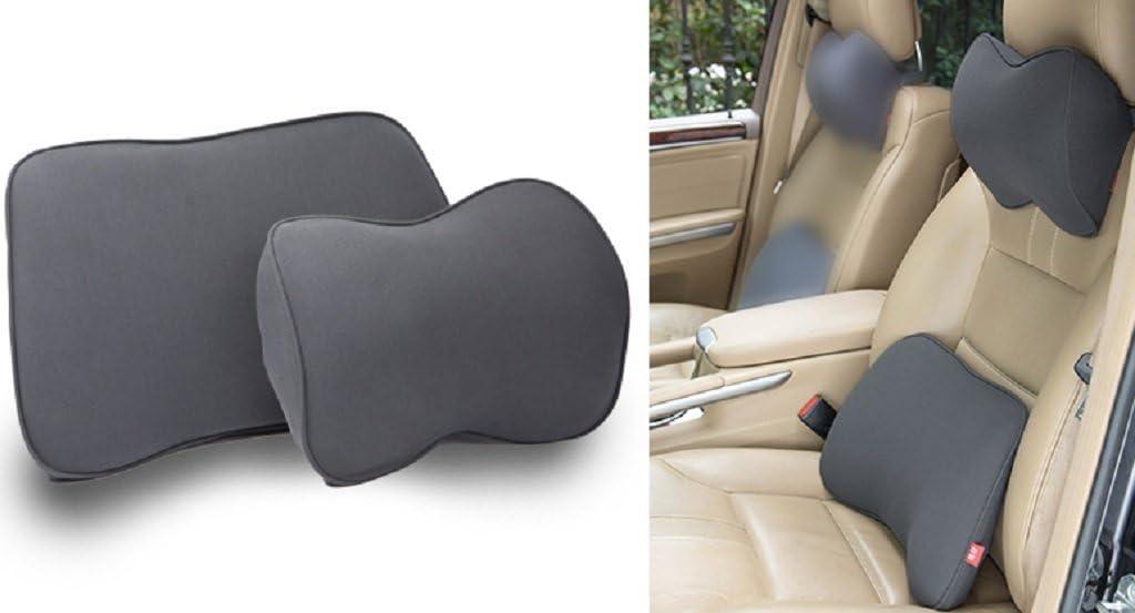 simple, moderne et confortable voiture lombaire confortable costume de protection du cou Gris