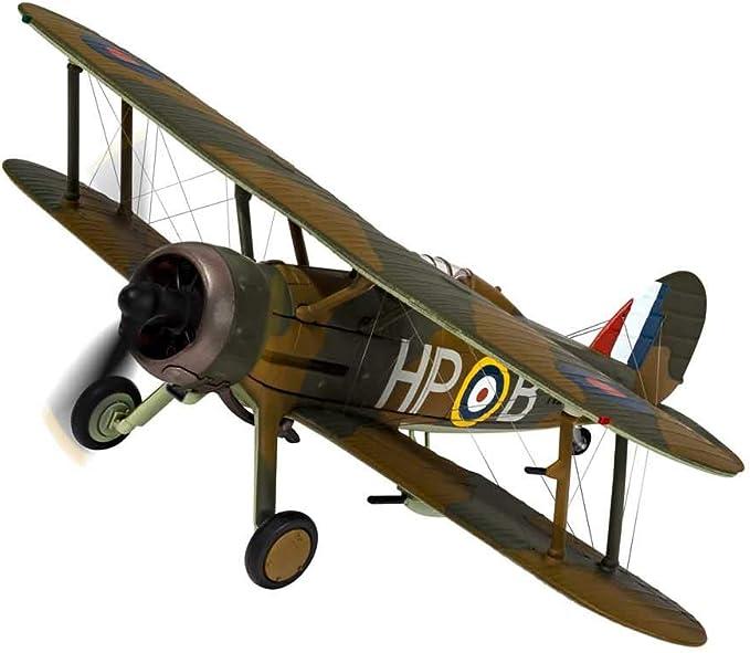 Corgi Diecast Gloster Gladiator MK II No.247 Squadron Battle of Britain 1:72 WWII Military Aircraft Display Model AA36212