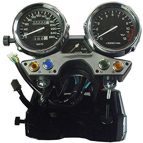 Motorrad LCD Tachometer Kilometerzähler Instrument Tachometer Gauge Cluster Meter für Yamaha XJR1300 1989-1997 Motorrad