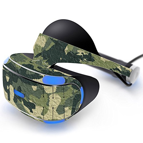 Beracah Skin Sticker for PS VR Skin Sticker Protector Cover Decal Green Camouflage