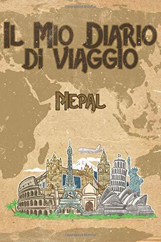 Il mio diario di viaggio Nepal: 6x9 Diario di viaggio I Taccuino con liste di controllo da compilare I Un regalo perfetto per il tuo viaggio in Nepal e per ogni viaggiatore
