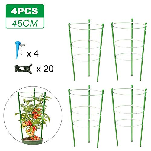 Millster Plant Supports For Garden Obelisk Climbing Plants Support -Plant Potted Support Durable Steady Sunscreen Climbing -Plant Trellis Garden Planting Accessories