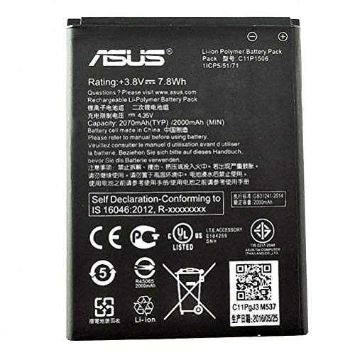 ASUS C11P1506 ricambio per cellulare Batteria Nero