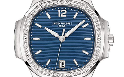Patek Philippe Nautilus Steel 7118-1200A-001 with Blue Opalinedial