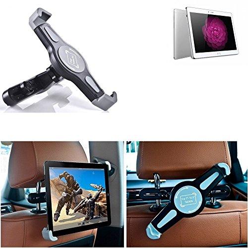 K-S-Trade Tablethalterung Kompatibel Mit Huawei MediaPad M2 10.0 LTE KFZ Kopfstützen Halterung 360° Auto Sitzhalterung Headrest Holder Halter Tablet PC Kopfstütze Autositz Tablet-PC Reisehalter