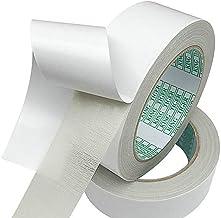 1 rol wit 5 cm x 10 m legband zonder resten verwijderbaar - dubbelzijdig plakband voor het verlijmen van tapijten en PVC v...
