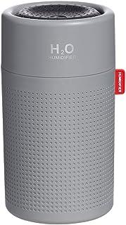 SMARTDEVIL Desk Humidifier Ultrasonic Aroma Diffuser Silent Car Humidifier Sanitization Timing LED Light Bottle Small Air ...