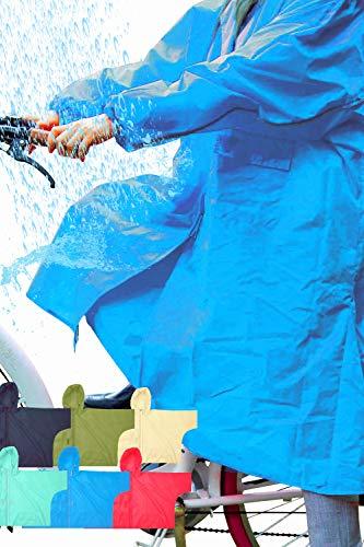 【 ひざ下ぬれない レインコート】パンツ不要 レインコート レインコート 自転車 カッパ ママ レイン コート 自転車 レインコート レディース レインスーツ 雨具 レインウェア カッパ 雨具 レディース カッパ 自転車 カッパ カッパ 雨具 自転車 カッパ 自転車 レディース レインコート レディース レインウェア 自転車 かっぱ (ブルー)