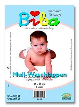Bierbaum 63.1000/00 - Mull Waschlappen