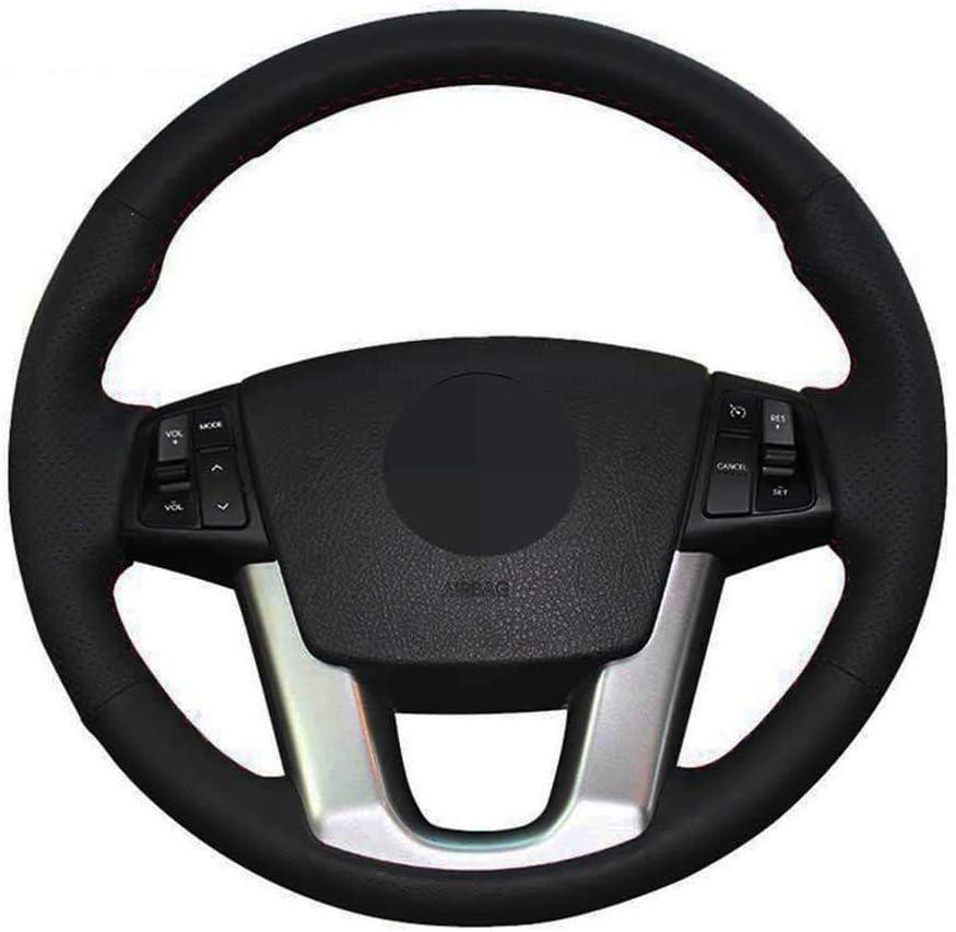 SAXTZDS Car DIY 5 ☆ very popular Steering Wheel Baltimore Mall Cover Fit for Kia 2011 Cadenza K7
