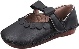 WEXCV sandalen babyschoenen mode casual peuter meisjes bowknot effen prinses schoenen loopschoenen herfst vrijetijdsschoen...