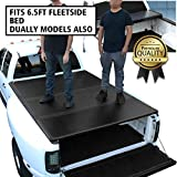 DNA Motoring TTC-HARD-005 Pickup Truck Bed Top Hard Solid Tri-Fold Tonneau Cover