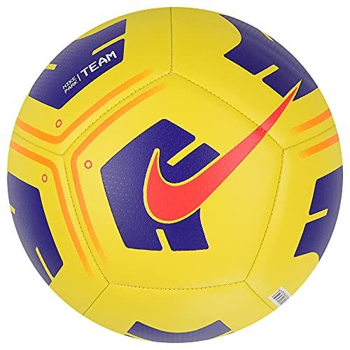 Nike Pallone da calcio Park Team Ball, giallo / VIOLET/BRIGHT CRIMSON, CU8033-720, 5
