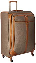 Hartmann Herringbone Spinner one of the Top Ten Luggage Brands to Know