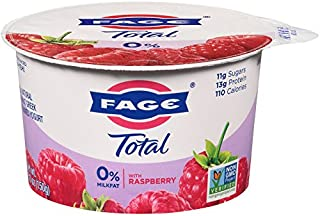 FAGE TOTAL Split Cup, 0% Greek Yogurt with Raspberry, 5.3 oz