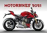 Motorcyle Calendar - Calendars 2020 - 2021 Wall Calendar - Motorcycle Calendar - Photo Calendar - Moto GP Calendar - Motorbikes Calendar by Helma
