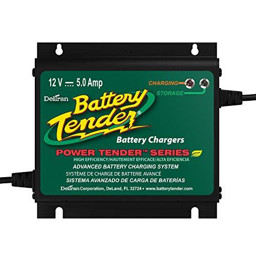 Battery Tender 022-0157-1 Waterproof 12 Volt Power Tender Plus Battery Charger