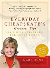 Everyday Cheapskate's Greatest Tips 500 Simple Strategies for Smart Living(hardback)