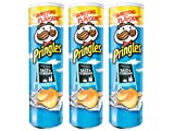 Pringles - Salt & Vinegar - 165 g - [Pack de 3]
