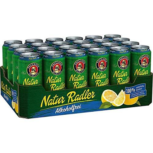 24 Dosen Paulaner Radler alkoholfrei a 0,5L Liter Bier inc. 6.00€ Pfand ohne Alkohol