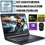 2021 Flagship Acer Predator Triton 500 Gaming Laptop 15.6' FHD IPS 144 Hz Intel 6-Core i7-9750H 64GB DDR4 2TB PCIe SSD 6G RTX 2060 RGB Backlit KB Thunderbolt 3 Win 10 Pro + iCarpWirelessMouse