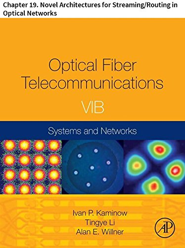 Optical Fiber Telecommunications VIB: Chapter 19. Novel Architectures for Streaming/Routing in Optical Networks (Optics and Photonics) (English Edition)