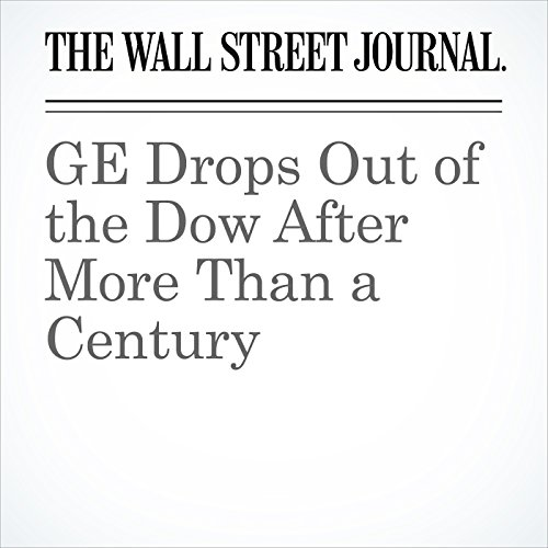 GE Drops Out of the Dow After More Than a Century copertina