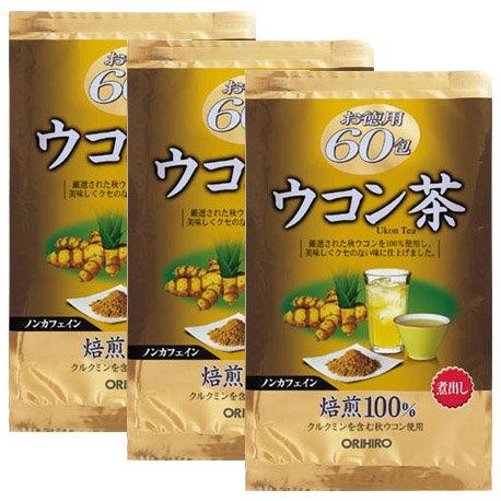 1位 オリヒロ『徳用ウコン茶 60袋』
