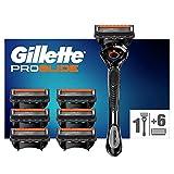 Gillette Fusion5 ProGlide Razor for Men with Flexball Technology + 7 Refill Blades with Precision Trimmer