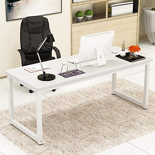 Writing Computer Desk 63' Home Office Study Desk, Modern Simple...