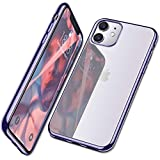 Mkeke Compatible with iPhone 11 Case, Clear...