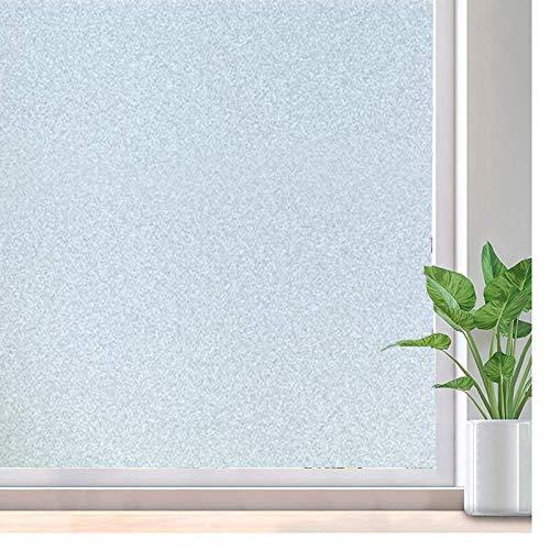 LMKJ Película para Ventanas de privacidad Película para Ventanas de Vidrio de Mantenimiento Fresco estático para Oficina, Pegatinas para Ventanas de hogar/Cocina A45 50x200cm