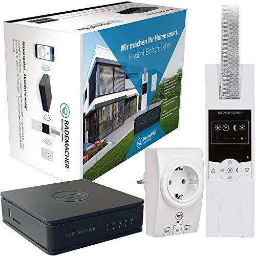 Rademacher HomePilot Aktionspaket »Abendstimmung« Smart Home Zentrale inkl. elektrischer Funk Gurtwickler (RolloTron Standard DuoFern 1400) + Zwischenstecker Schalten (Steckdose)