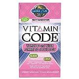 Garden of Life Vitamin Code Women 50 & Wiser 60 Cápsulas vegetarianas Ultrazorbe 60 g