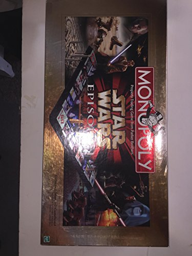 Hasbro Monopoly Star Wars Episode I Board Game Made