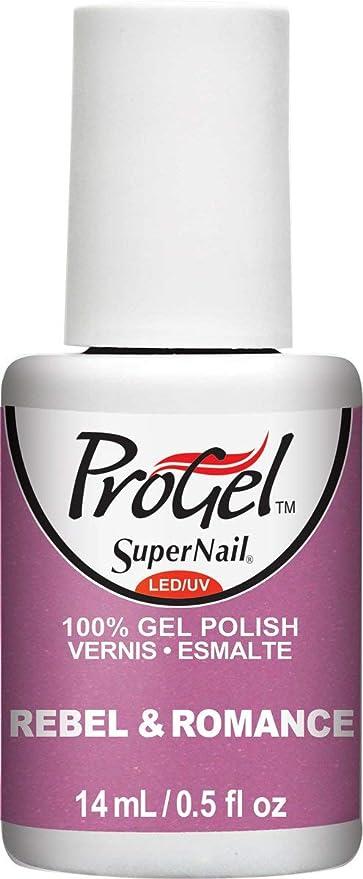 船生産性聴くSuperNail ProGel Gel Polish - Rebel & Romance - 0.5oz/14ml