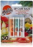 Malibu - Envase blíster de bálsamo labial con SPF30 - Mango/menta/tropical - 12 ml
