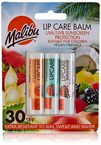 Malibu Blister Lipbalm con SPF30, Mango / menta /...