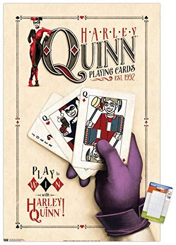 5119NuC-XeL Harley Quinn DC Comics Posters