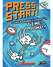 Super Rabbit Boy's Time Jump!: A Branches Book (Press Start! #9), Volume 9 (Press Start!: Scholastic Branches)