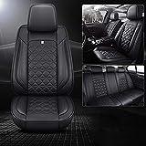 Housse de Siege Voiture pour Audi A1 A3 A4 A5 A6 A7 A8 Q2 Q3 Q5 Q7 R8 TT Rs3 Rs4 Rs5 Rs6 Tous Les modèles Protecteur de Chaise de Voiture, Standard Noir