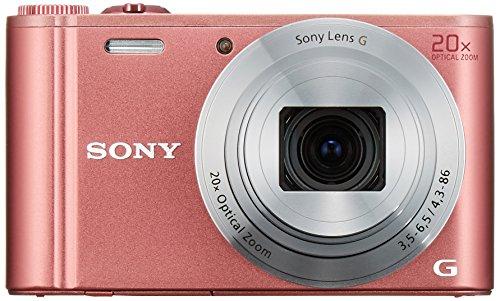 Sony Digitalkamera Cyber-Shot WX350 20fach optischen rosa DSC-WX350-P