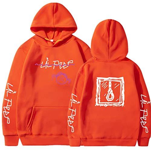 EMPERSTAR Lil Peep Chaqueta Unisex Hip Pop Sudadera con Capucha Rap Cool Pullover Lil Peep Jogginganzug Sudadera Amarilla L