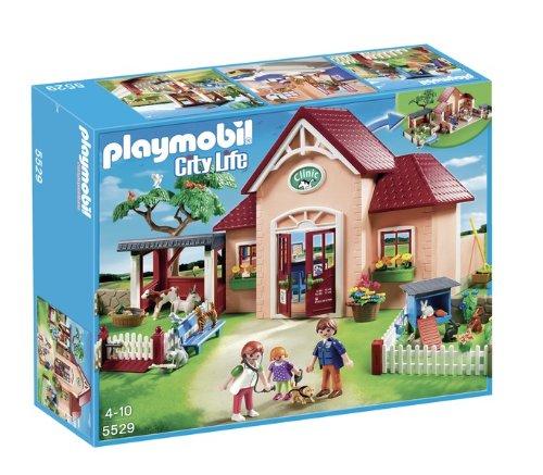 Playmobil 5529 - Clinica Veterinaria con Animali