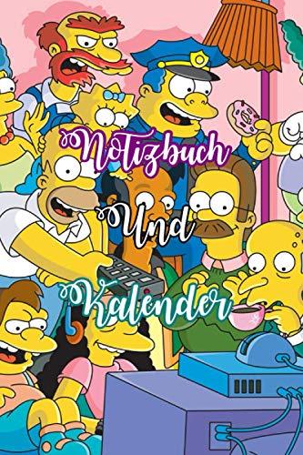 2021 Kalender Simpsons Tagebuch Notizbuch Passwort Tracker Online Shopping Tracker 1