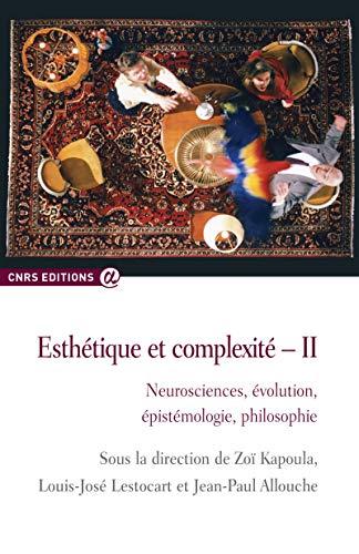 Esthétique et complexité II