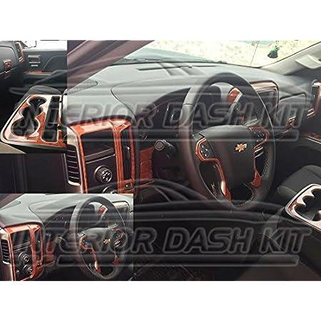 Body & Trim Chevrolet CHEVY SILVERADO INTERIOR BURL WOOD DASH TRIM ...